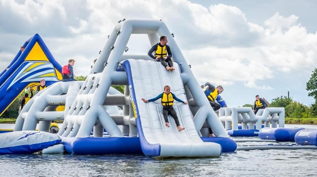 Family Breaks in Clare - Aqua Park Kilrush